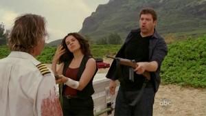 Ilana and Bram confront Frank Lapidus